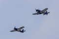 Grumman F4F Wildcat and Douglass SBD Dauntless