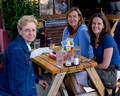 Karen, Katy and Joanna - lunch on Mississippi Ave.