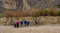 Crossing Terlingua Creek at Santa Elena Canyon