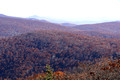 Fading colors - from Hawksbill Mountain