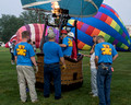 Teddy Bear Balloon crew - Lexington Balloon Rally