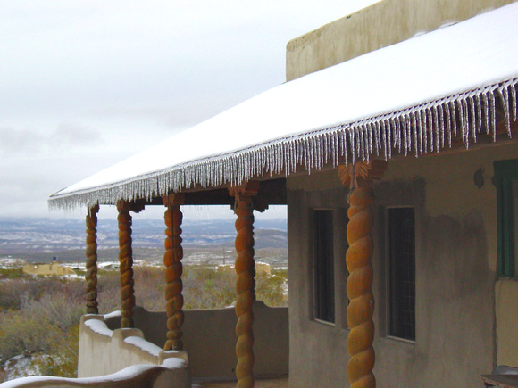 Icicles at Terlingua ghostown - Terlingua, TX