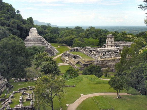 Ruins at Palenque - Chiapas state, Mexico