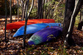Colorful Kayaks - Lake Audubon