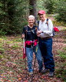 Barb and Norm on the Shay Trace Trail - Blackwater Falls