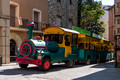 The tourist train - Besalu