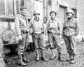 from 1.5 inch sq - Art Hass - left - Hambach France - taken  5 or 6-Dec-1944